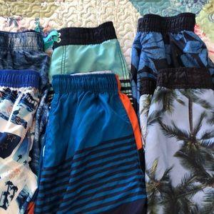 Boy's Sz 8 Swim trunks lot-Old Navy